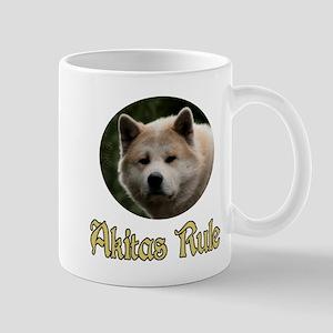 Akitas Rule Mug