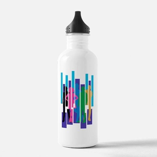 Unique Graphic Sports Water Bottle