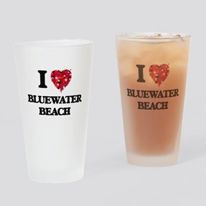 I love Bluewater Beach Florida Drinking Glass