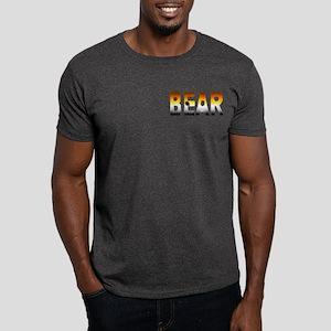 BEAR-FURRY LOOK-PRIDE COLORS pkt Dark T-Shirt