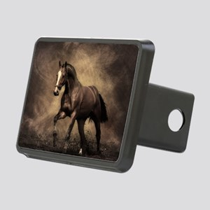 Beautiful Brown Horse Rectangular Hitch Cover