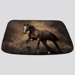 Beautiful Brown Horse Bathmat