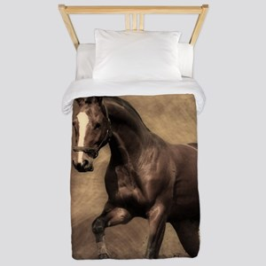 Beautiful Brown Horse Twin Duvet