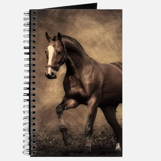 Beautiful Brown Horse Journal
