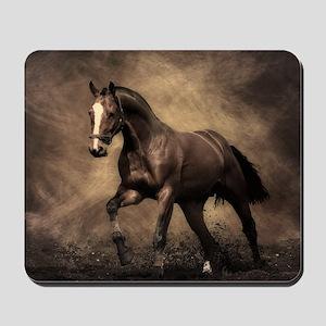 Beautiful Brown Horse Mousepad