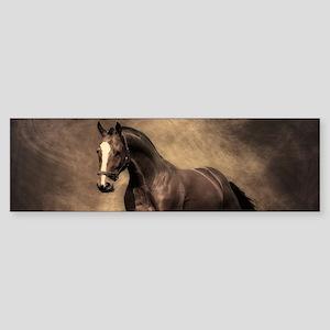 Beautiful Brown Horse Bumper Sticker