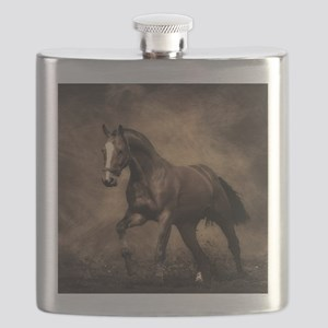 Beautiful Brown Horse Flask