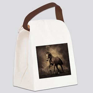 Beautiful Brown Horse Canvas Lunch Bag