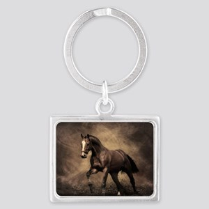 Beautiful Brown Horse Keychains