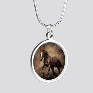 Beautiful Brown Horse Necklaces