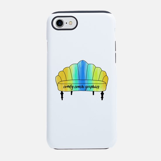 Comfy Couch Graphics iPhone 8/7 Tough Case