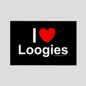 Loogies Rectangle Magnet