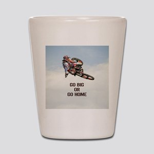 Motocross Rider Shot Glass