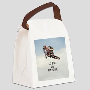 Motocross Rider Canvas Lunch Bag