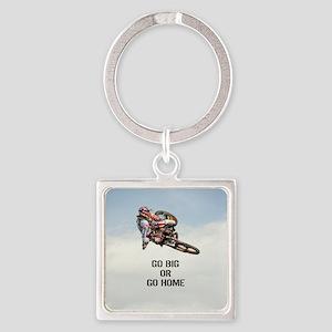 Motocross Rider Keychains