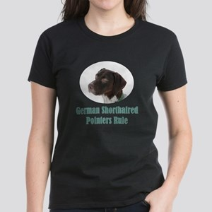 German Shorthaired Pointers R Women's Dark T-Shirt