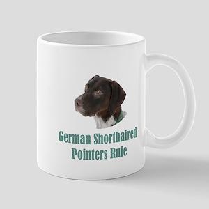 German Shorthaired Pointers Rule Mug