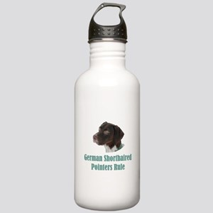 German Shorthaired Poi Stainless Water Bottle 1.0L