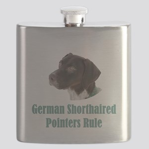 German Shorthaired Pointers Rule Flask