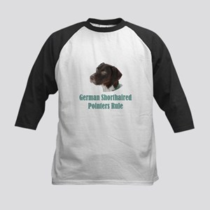 German Shorthaired Pointers R Kids Baseball Jersey