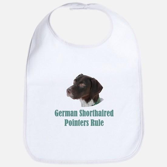 German Shorthaired Pointers Rule Bib