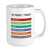 Office humor Large Mugs (15 oz)