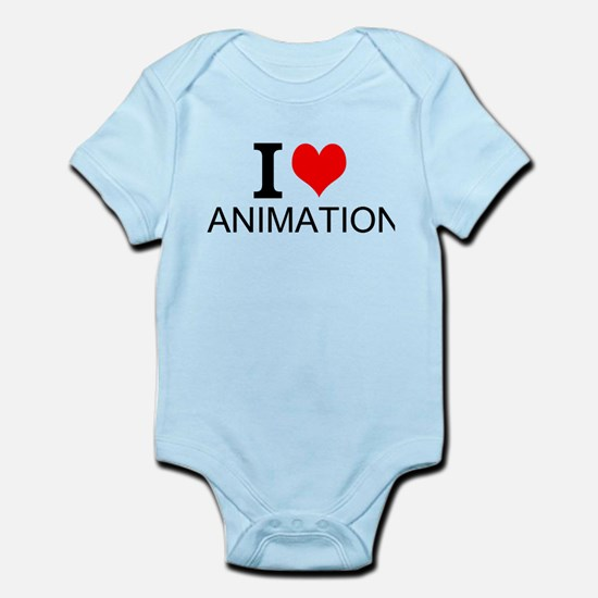 I Love Animation Body Suit