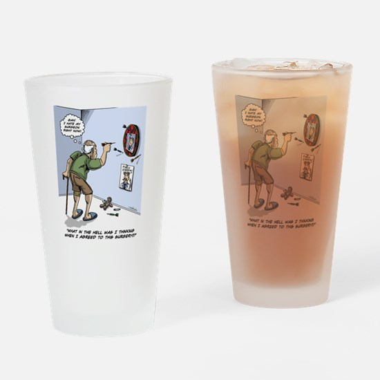 Funny Surgery Drinking Glass