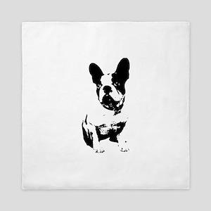 French Bulldog Queen Duvet