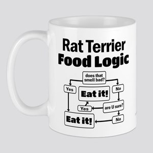 Rat Terrier Food Mug