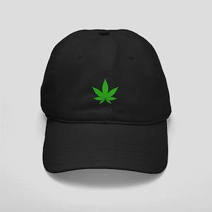 Pot Leaf Black Cap