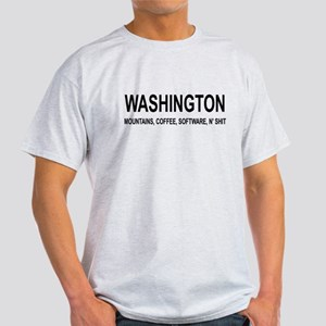 WASHINGTON N' SHIT Light T-Shirt