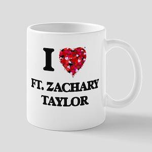 I love Ft. Zachary Taylor Florida Mugs