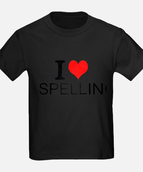I Love Spelling T-Shirt