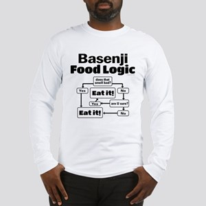 Basenji Food Long Sleeve T-Shirt