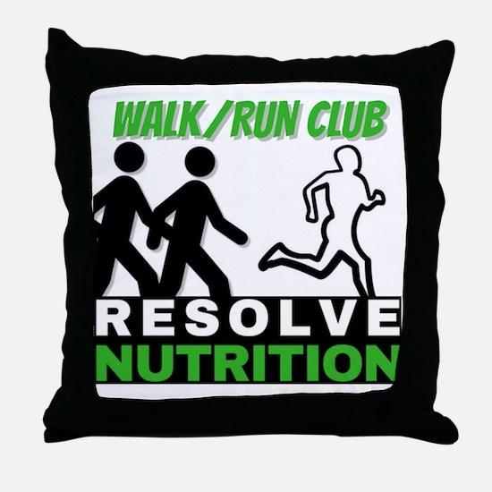 Cute Walk Throw Pillow