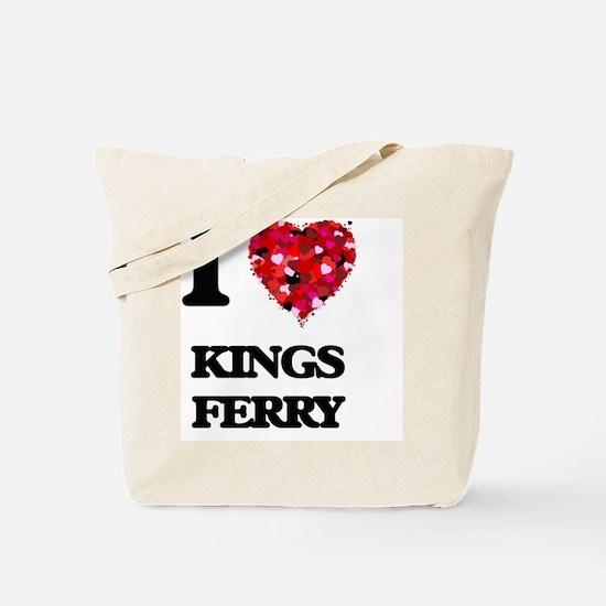 I love Kings Ferry Georgia Tote Bag