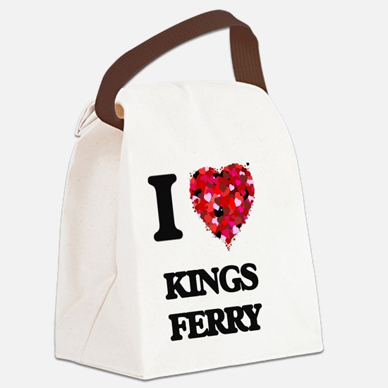 I love Kings Ferry Georgia Canvas Lunch Bag