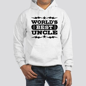 World's Best Uncle Hooded Sweatshirt