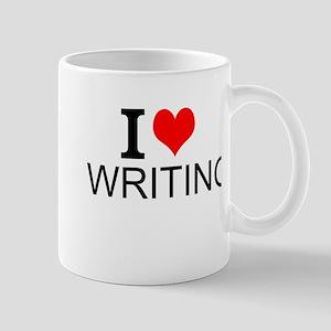 I Love Writing Mugs