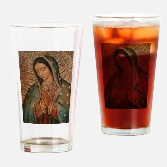 Cute Catholic faith Drinking Glass