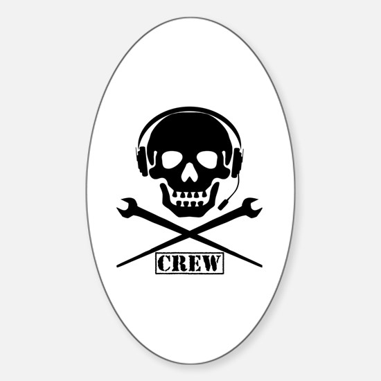 Unique Crew Sticker (Oval)