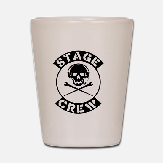 Funny Theater manager Shot Glass