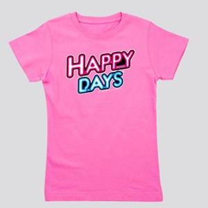 Happy Days Neon Light Girl's Tee