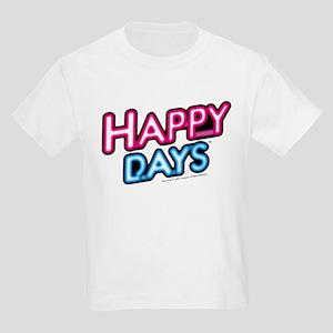 Happy Days Neon Light Kids Light T-Shirt