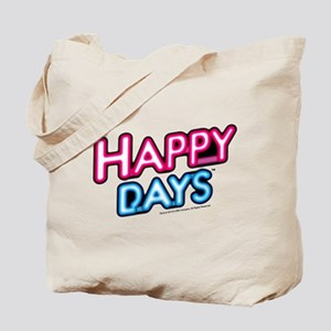 Happy Days Neon Light Tote Bag