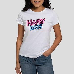 Happy Days Neon Light Women's T-Shirt