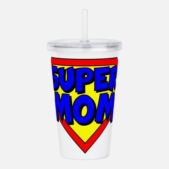 SuperMom Acrylic Double-wall Tumbler