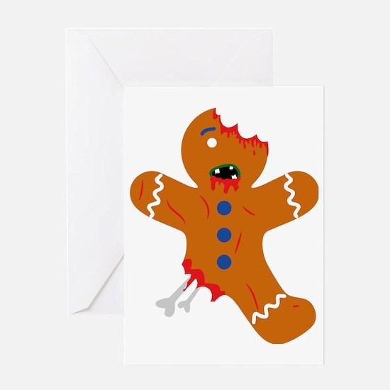 Cool Gingerbread men Greeting Card