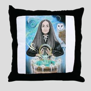 Cerridwen/Samhain Throw Pillow